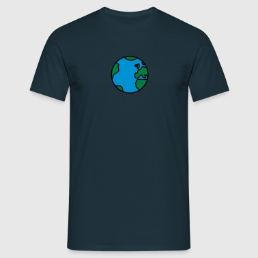 Cool Comic Earth - Camiseta hombre