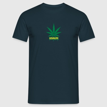 Legalize Weed Graffiti - T-shirt Homme