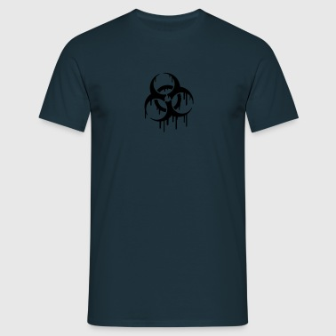 Biohazard Graffiti - T-shirt herr