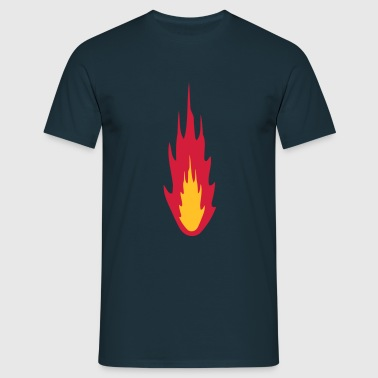Fire - T-shirt herr