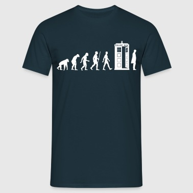 Evolution Tardis - Männer T-Shirt