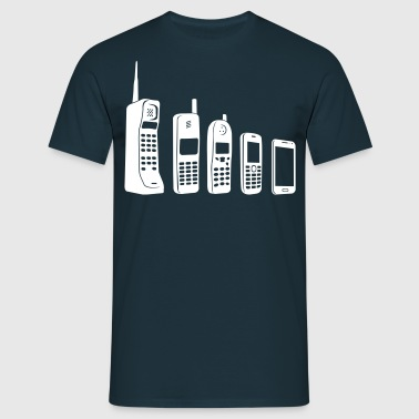 Mobile Evolution  - Men's T-Shirt