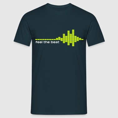 feel the beat - Camiseta hombre