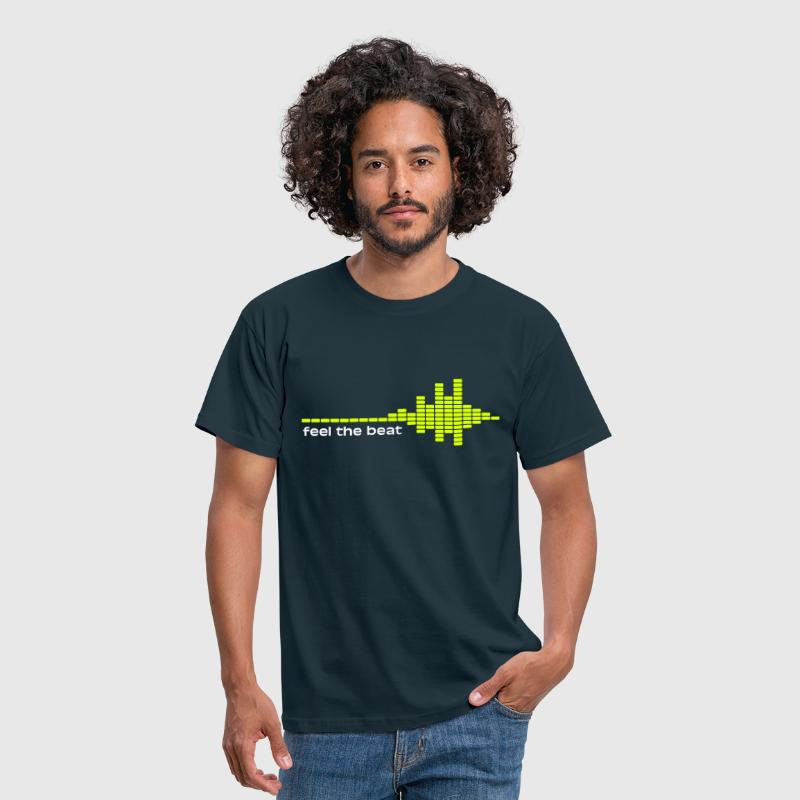feel the beat - Mannen T-shirt