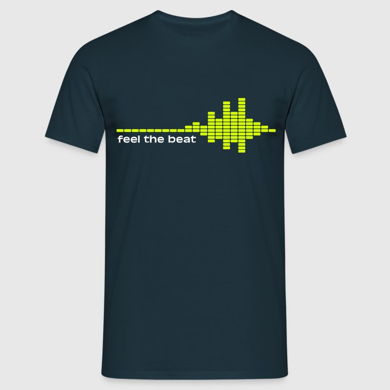 feel the beat - Männer T-Shirt