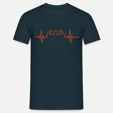 Dumbbell Pulse - Bodybuilding - Men's T-Shirt