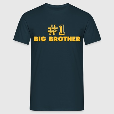 number one big brother - Men's T-Shirt