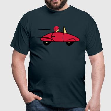 Car sports car fast women car - Men's T-Shirt