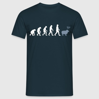 evolution mouton - T-shirt Homme