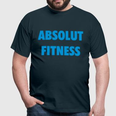 absolut fitness - T-shirt herr