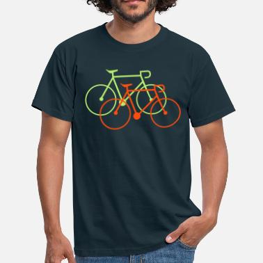 bike singlespeed fixie bicycle - Men's T-Shirt