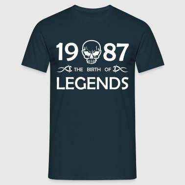 Legends 1987 - Männer T-Shirt