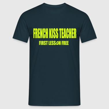 French Kiss - T-shirt Homme