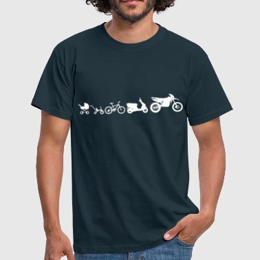 Moto Evolution Endurocross  - Camiseta hombre