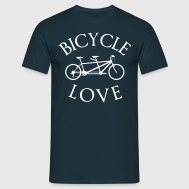 Tandem bike  - Men's T-Shirt