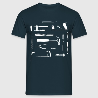 I love my hand tools - T-shirt Homme