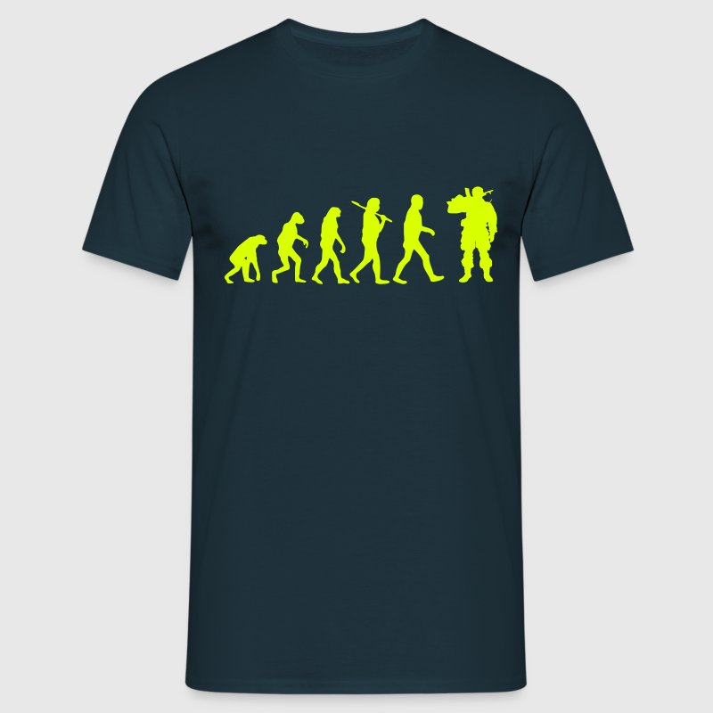 evolution soldat 1 - T-shirt Homme