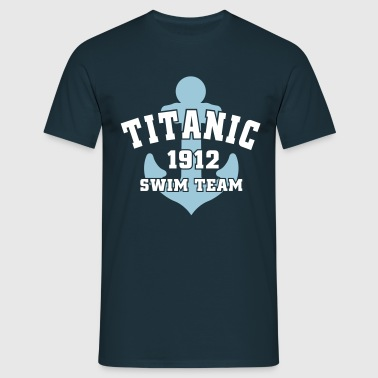 Titanic 1912 SwimTeam - T-shirt herr