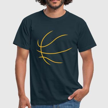 Basketball Outline - Männer T-Shirt