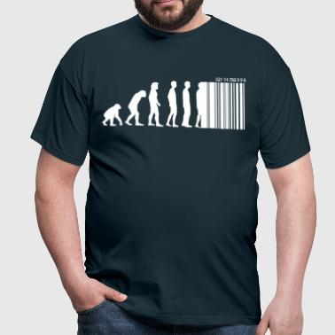 DARWIN - EVOLUTION SOCIETE - CODE BARRE - T-shirt Homme