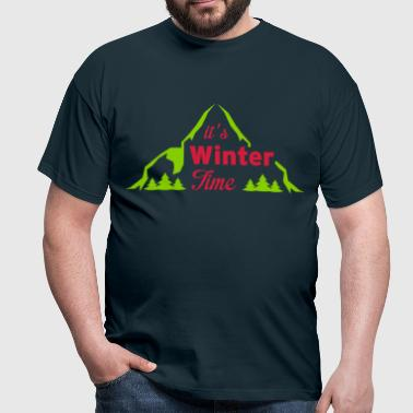 It's winter time - T-shirt Homme
