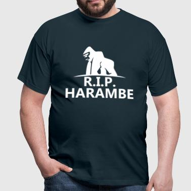 Harambe Rip - Men's T-Shirt