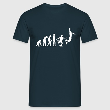 Basketball Evolution - Men's T-Shirt