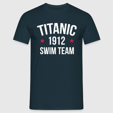 Titanic Swim Team  - T-shirt herr