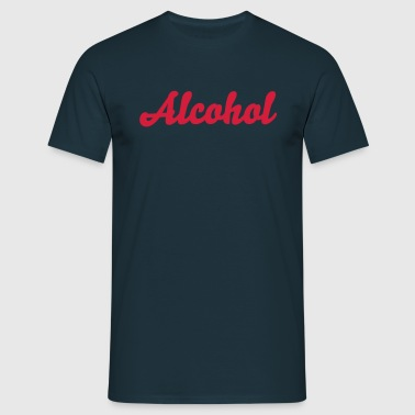 alcohol - Mannen T-shirt