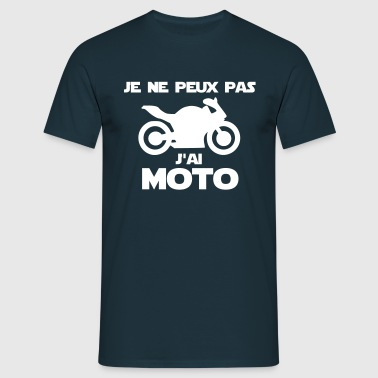 tee shirts je peux pas jai moto commander en ligne. Black Bedroom Furniture Sets. Home Design Ideas