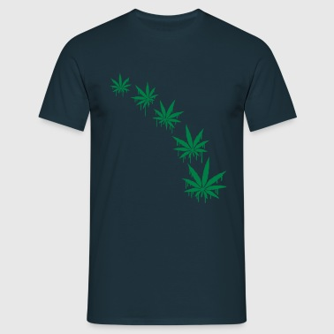 Weed Graffiti Style - T-shirt Homme