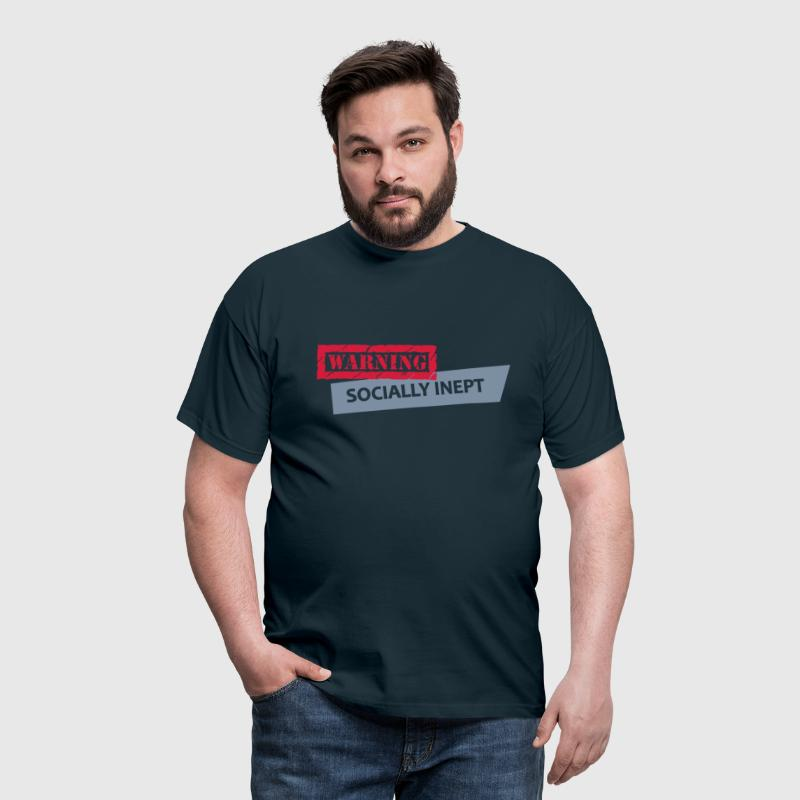 socially inept - Men's T-Shirt