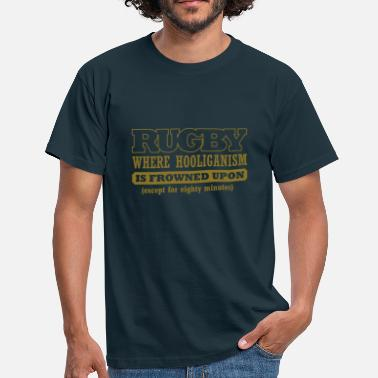 Rugby League BRL Rugby  Slogan  - Men's T-Shirt