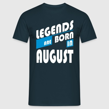 Legends of August - Camiseta hombre