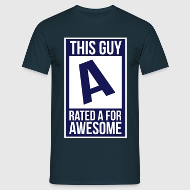 rated a - Men's T-Shirt