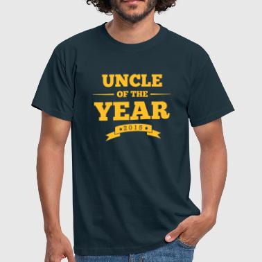 uncle of the year 2015 - Mannen T-shirt