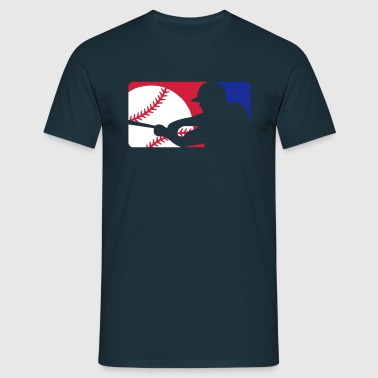 Baseball Player Sign T-Shirts - Männer T-Shirt