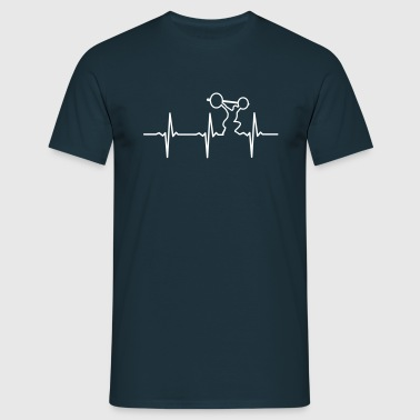 Heartbeat Gym - Männer T-Shirt