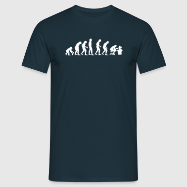 evolution - T-shirt herr