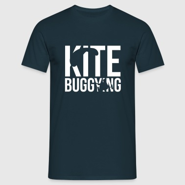 kitebuggying - Männer T-Shirt