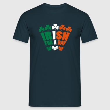 Irish For A Day - Mannen T-shirt