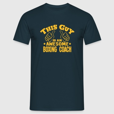 this guy is an awesome boxing coach - Men's T-Shirt
