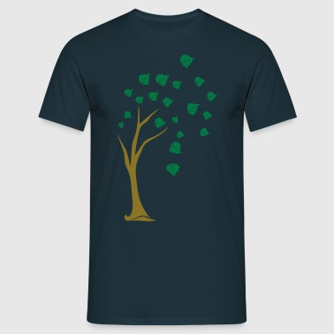 deciduous tree - Men's T-Shirt