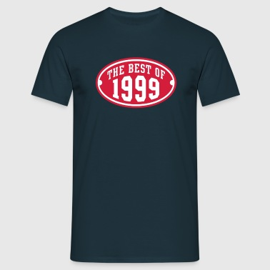 THE BEST OF 1999 2C Birthday Anniversaire Geburtstag - Men's T-Shirt