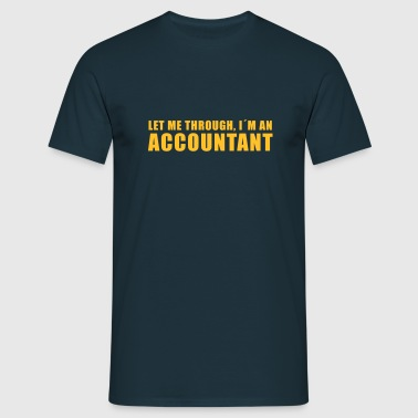 accountant - Männer T-Shirt