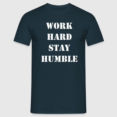 work_hard - T-shirt herr