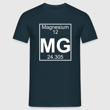Magnesium (Mg) (element 12) - Men's T-Shirt