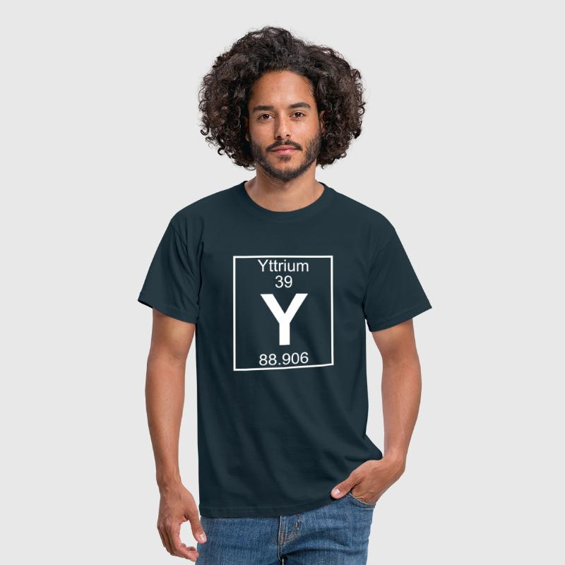 Yttrium (Y) (element 39) - Men's T-Shirt
