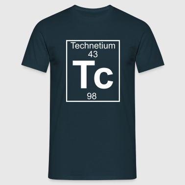 Technetium (Tc) (element 43) - Men's T-Shirt