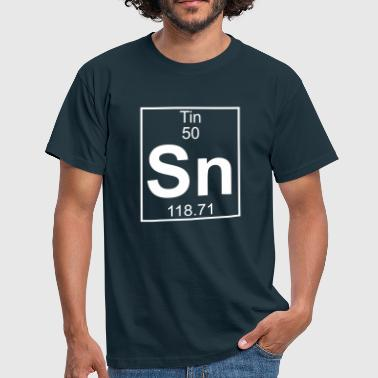 Element 050 - Sn (tin) - Full - Camiseta hombre